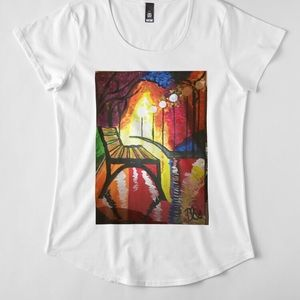 RedBubble Tops - Premium Cotton Women's Graphic T-Shirt